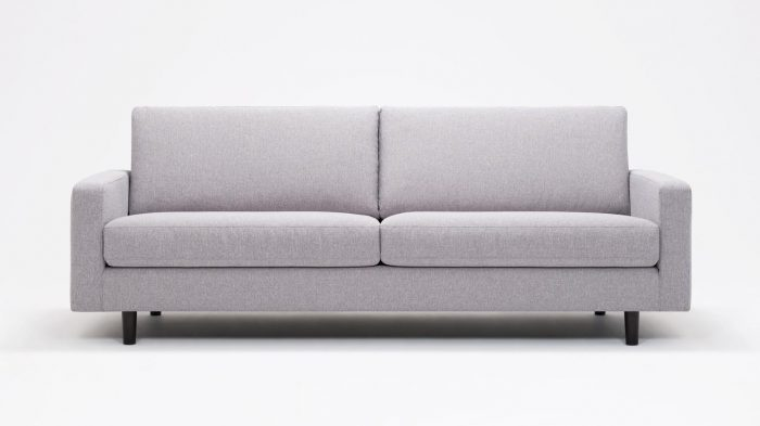 Panama Grey Sofa Front