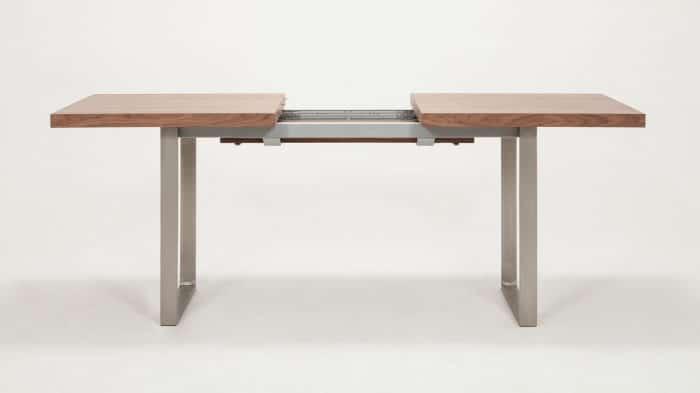 3020 340 par 3 dining tables hatch dining table walnut front 03