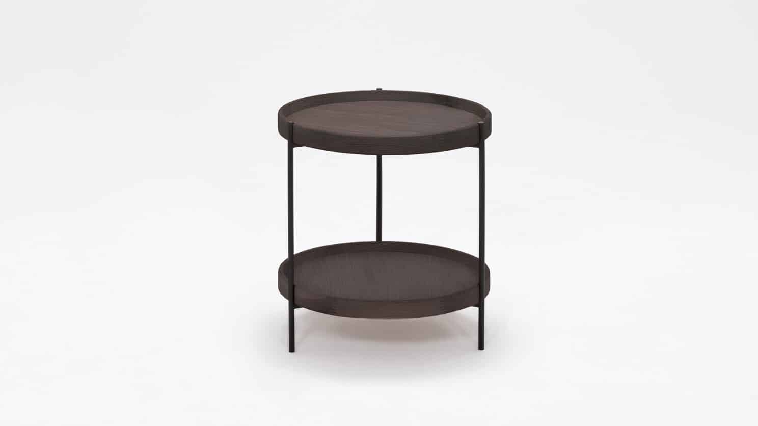 3020 417 17 1 end tables sage circular end table smoked oak front 01