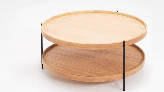 3020 418 16 2 coffee tables sage circular coffee table oak detail 01