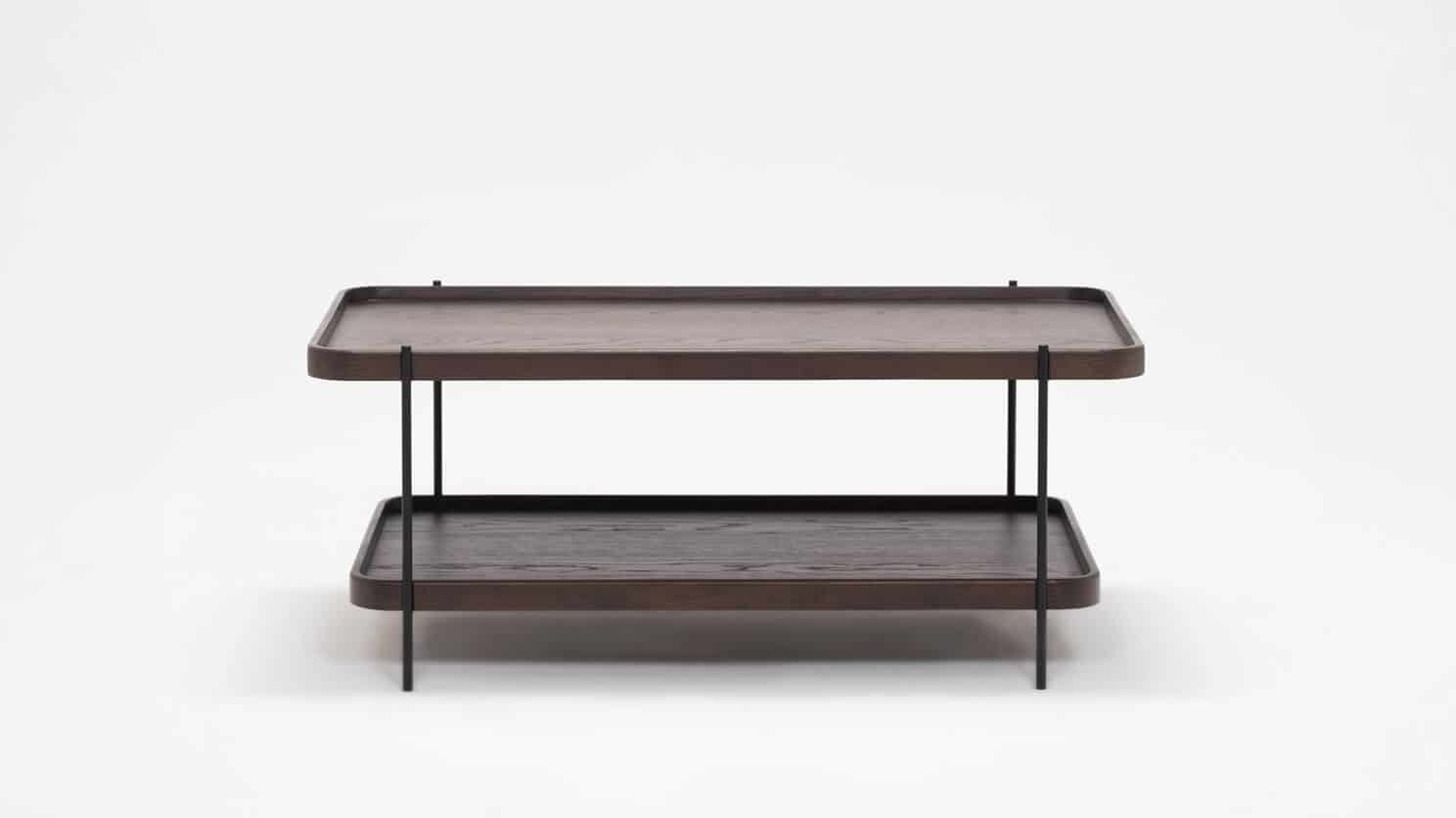 3020 419 17 3 coffee tables sage rectangular coffee table smoked oak front 01