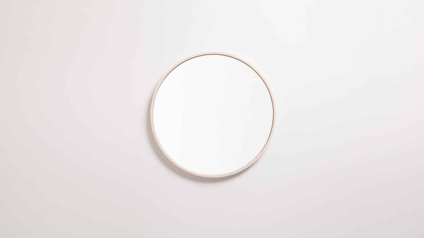 Medium Ash Conner Mirror Front