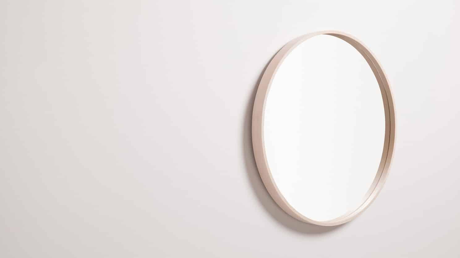 Medium Ash Conner Mirror Corner