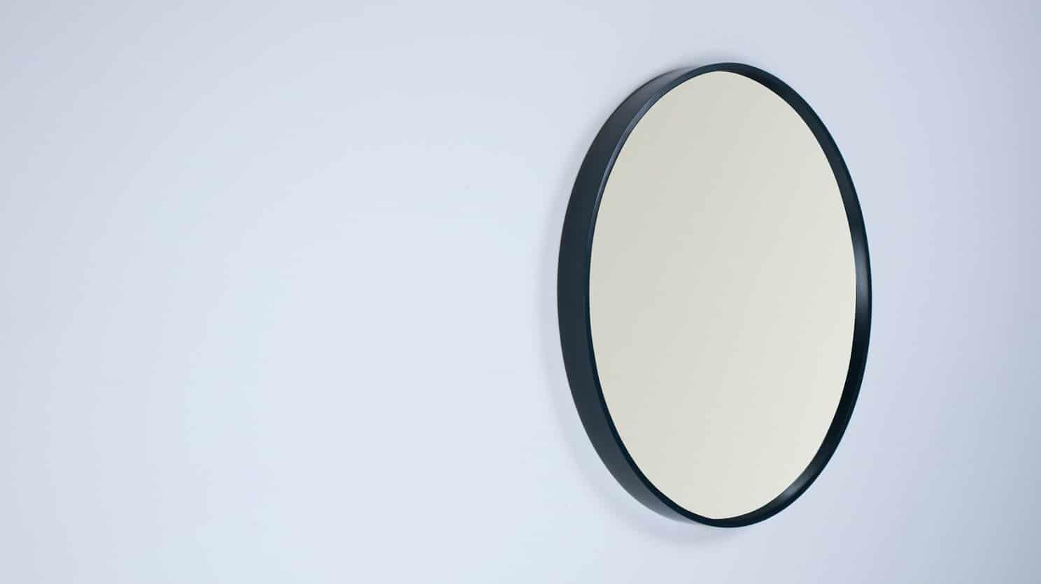 Medium Black Conner Mirror Corner