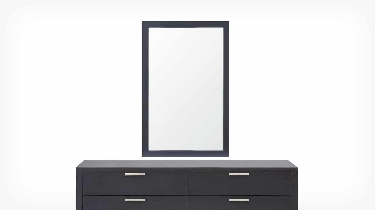 6020 401 12 2 mirror core dresser onyx front