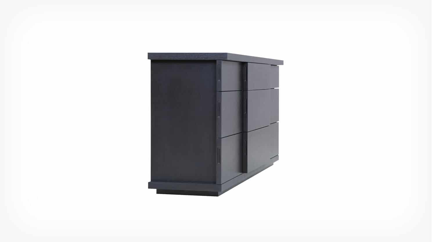 6080 451 par 2 dressers boom double dresser onyx corner