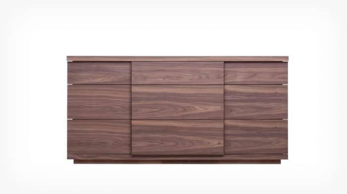 6080 451 par 5 dressers boom double dresser walnut front