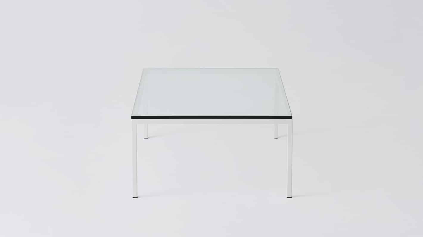 7020 030 par 20 coffee tables custom 48 coffee table glass white base side 01