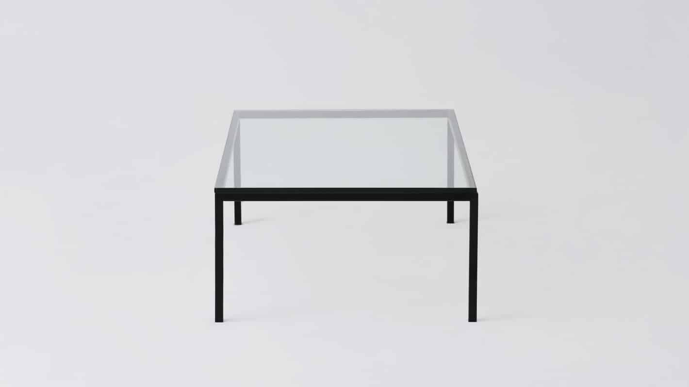 7020 030 par 21 coffee tables custom 48 coffee table glass black base side 01