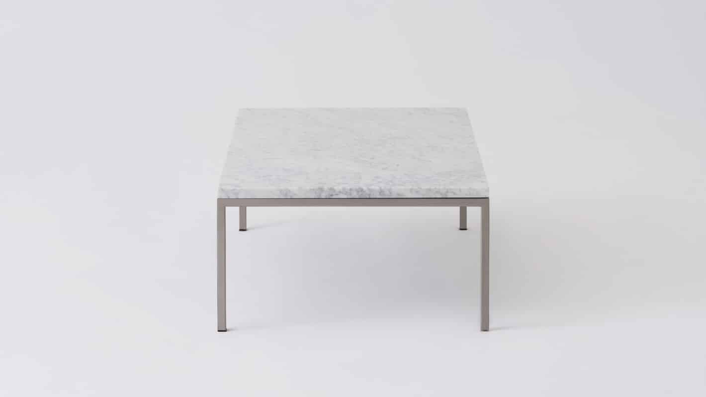 7020 030 par 26 coffee tables custom 48 coffee table white marble stainless base side 01