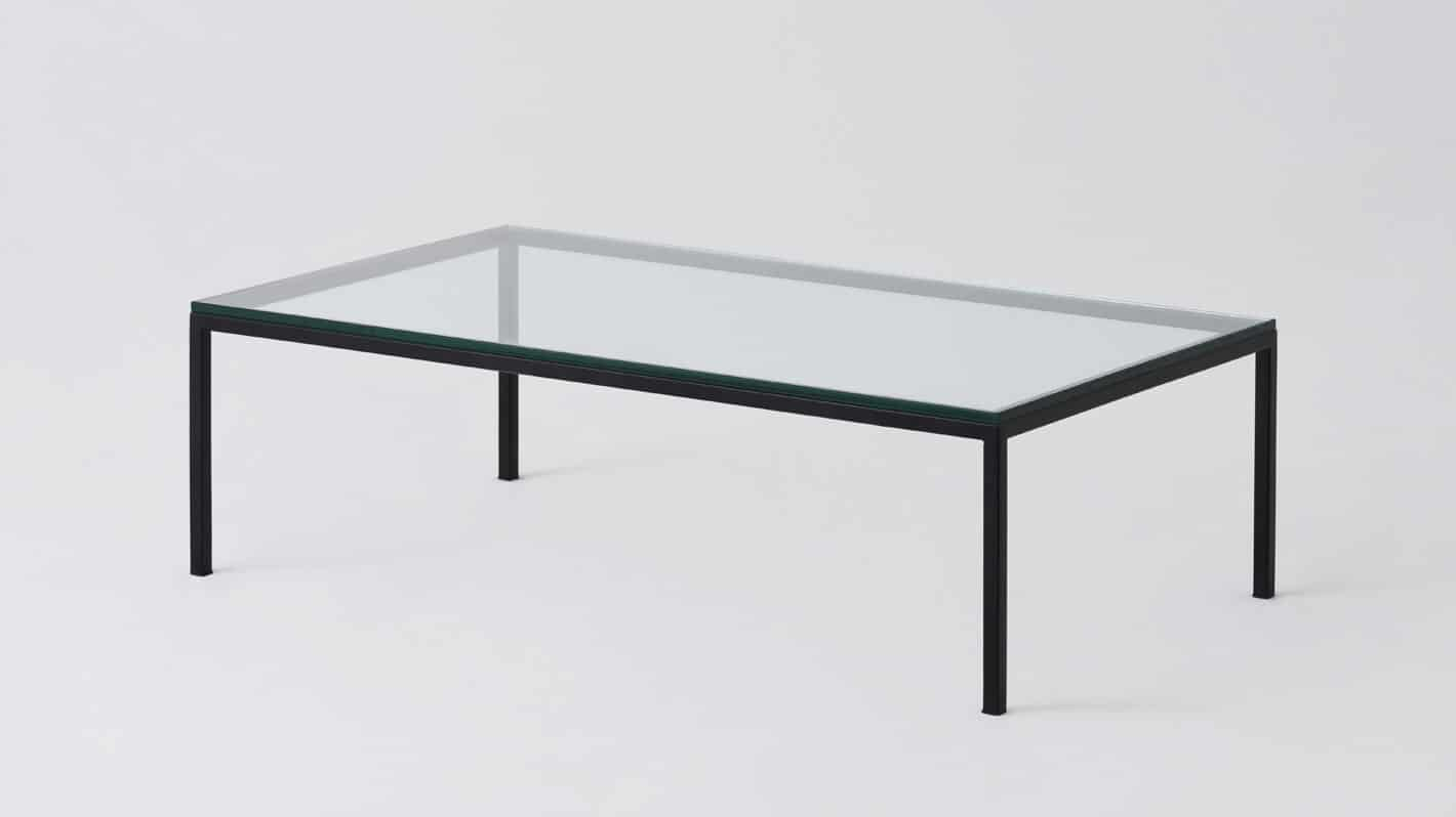 7020 030 par 8 coffee tables custom 48 coffee table glass black base corner 01