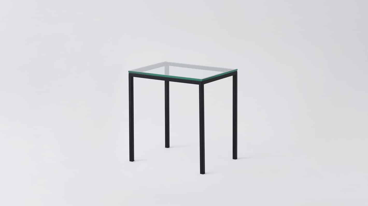 7020 090 par 10 end tables custom end table glass black base corner 01