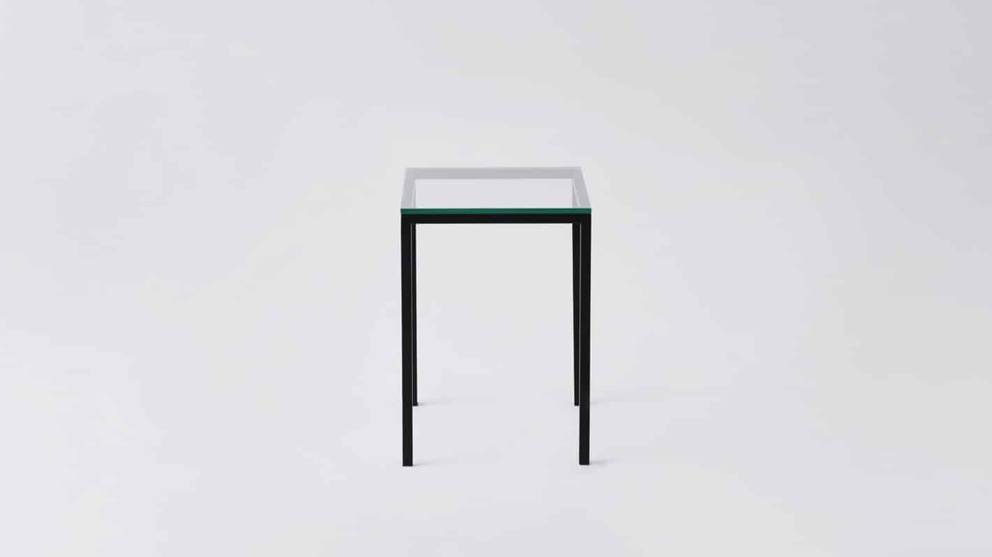 7020 090 par 23 end tables custom end table glass black base side 01