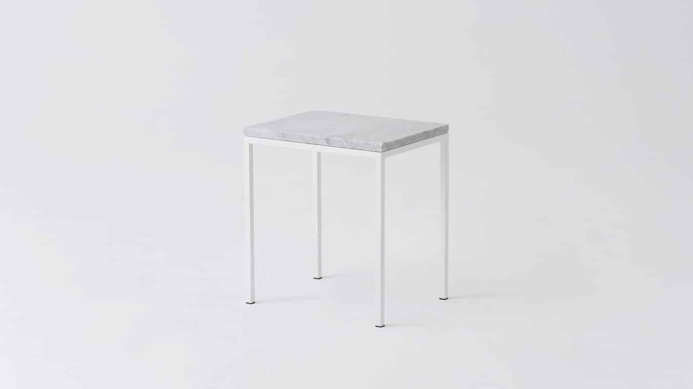 7020 090 par 6 end tables custom end table white marble white base corner 01