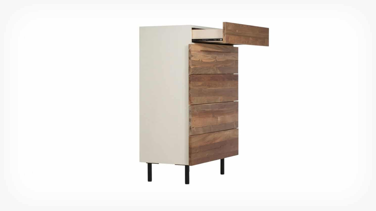 7040 437 par 4 chests reclaimed chest teak corner w drawer