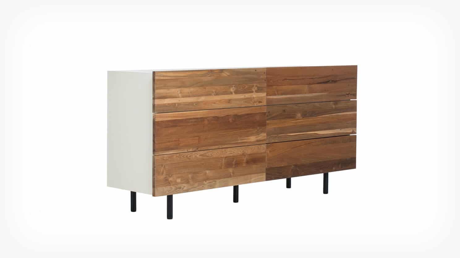 7040 451 par 1 dressers reclaimed double dresser teak corner 1