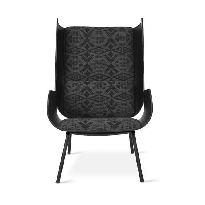 Gus x Pendleton   Elk Chair   Sunbrella Diamond River Tonal Charcoal   P02 e68e2f22 aae7 4d53 8638 2d654d1e4ff1 1024x1024