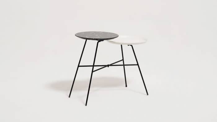 peggy  side table white blk marble corner 01