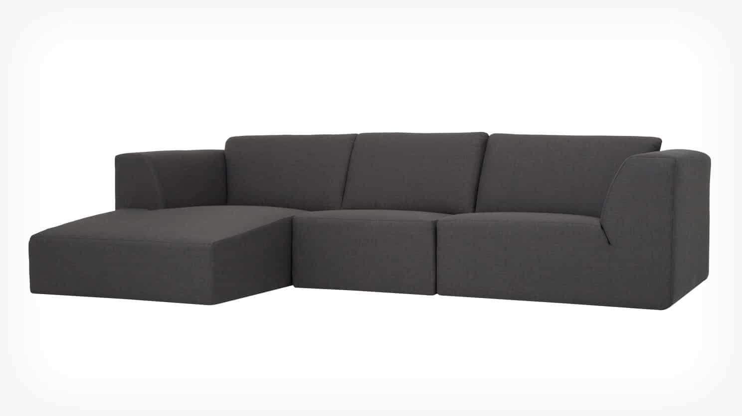 MORTEN 3-PIECE SECTIONAL SOFA W/CHAISE - D3 Home San Diego EQ3