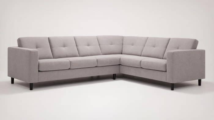 30129 ss s 1 sectionals solo sectional sofa mila silver front 02