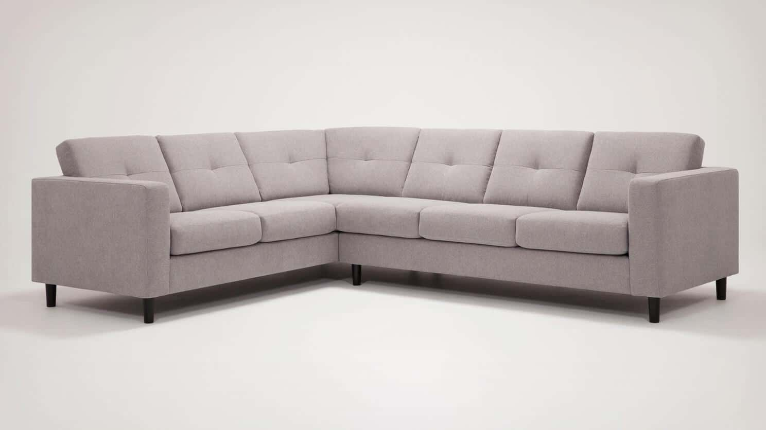 30129 ss s 2 sectionals solo sectional sofa mila silver front 04