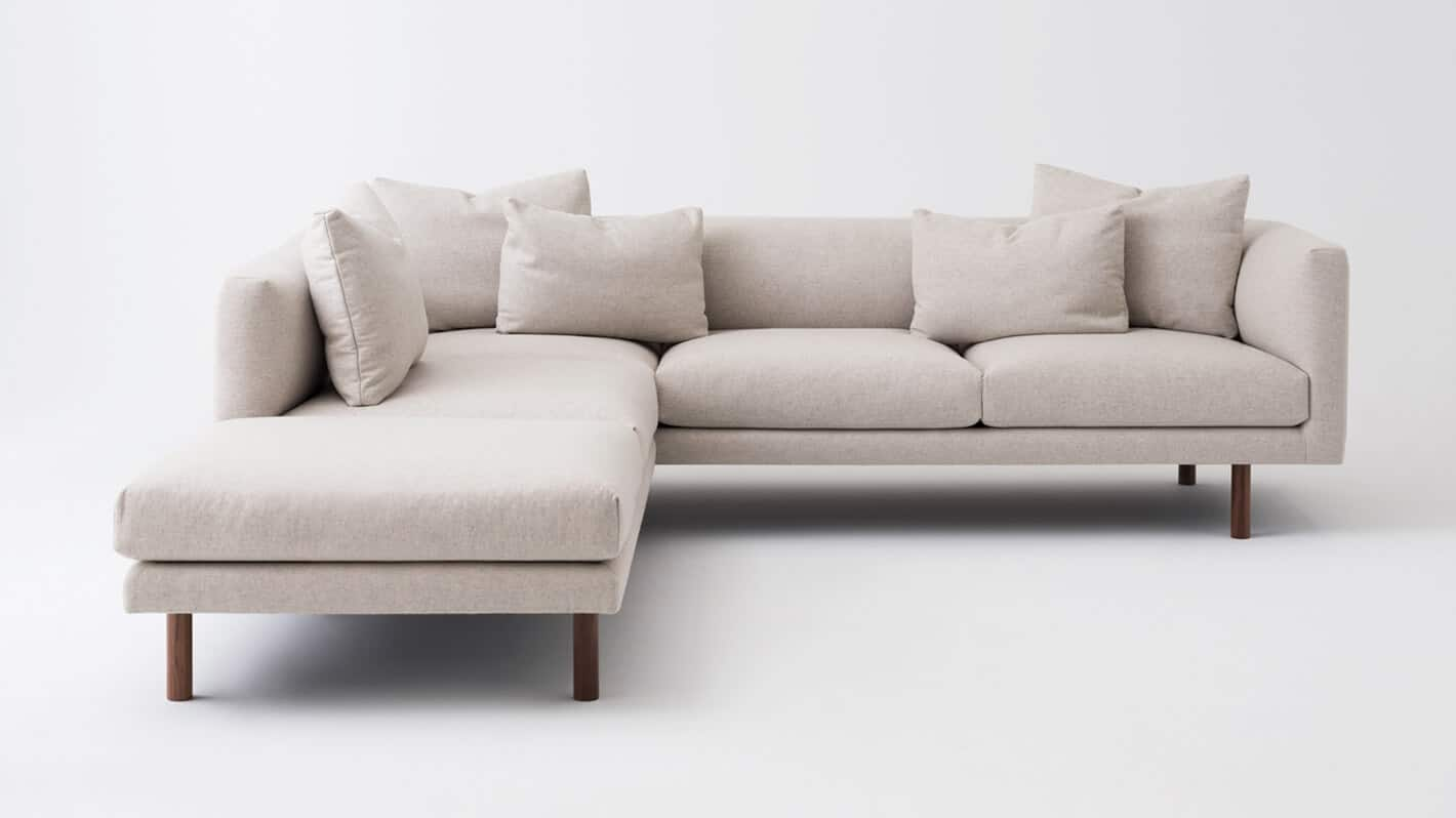 Replay 2 Piece Sectional Sofa W Chaise