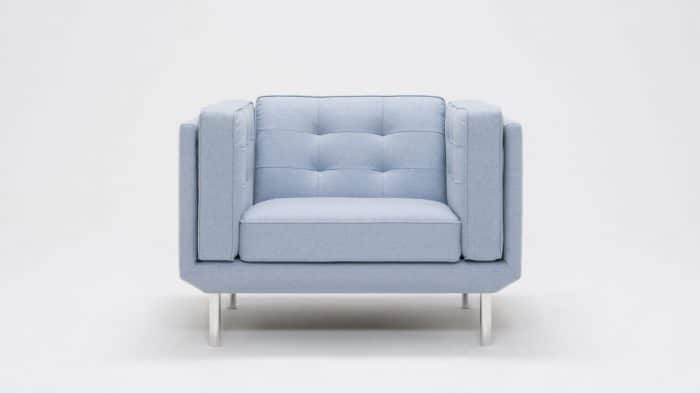 Plateau Chair Blind Pull Light Blue Front 2