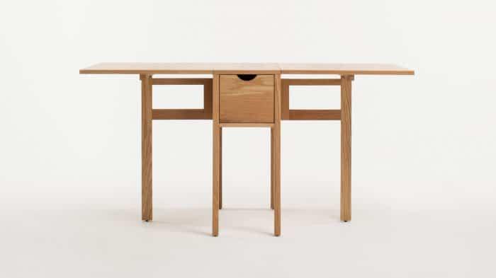 3020 377 par 1 dinette tables hallie folding table oak front 01