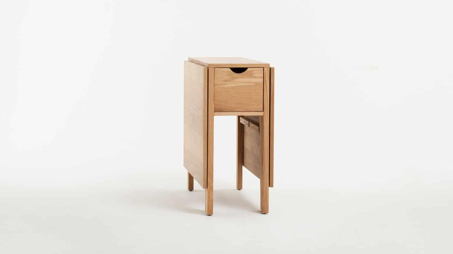 3020 377 par 3 dinette tables hallie folding table oak corner closed