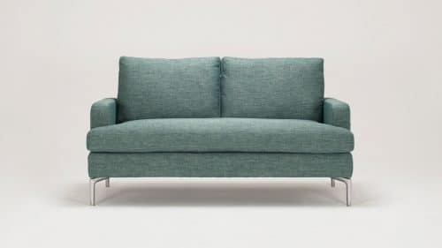 31127 03 02 loveseat eve key largo teal front view 2