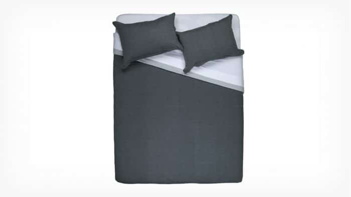 Duplex Duvet Set Dark Grey