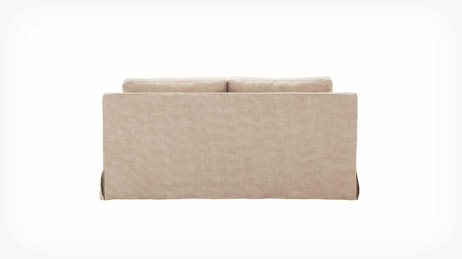 32113 03 04 loveseat slipcover blanche back view