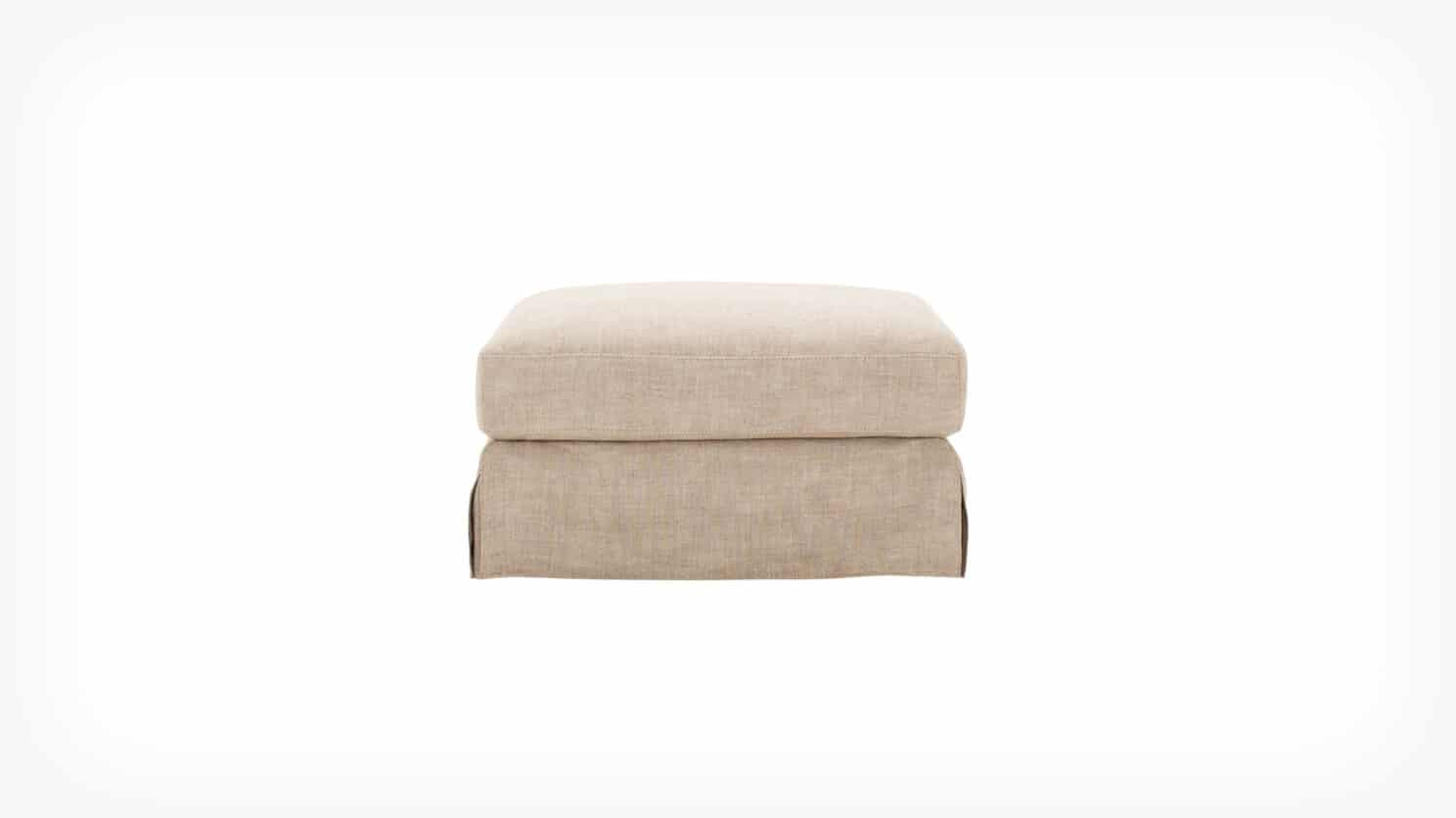 32113 04 01 ottoman slipcover blanche side view