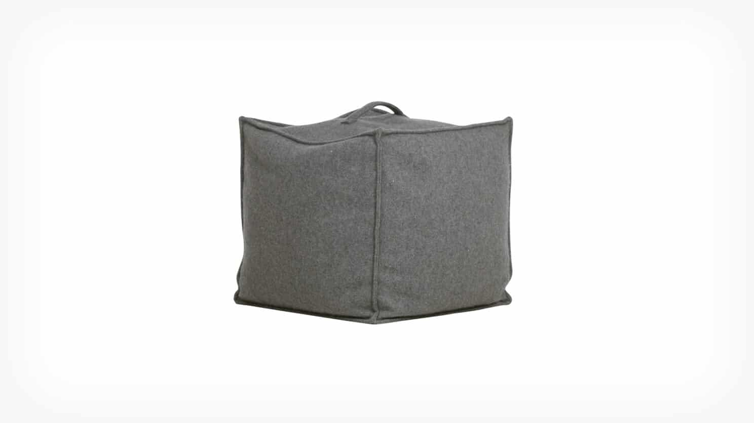 3220 907 71 01 dice pouf grey corner view