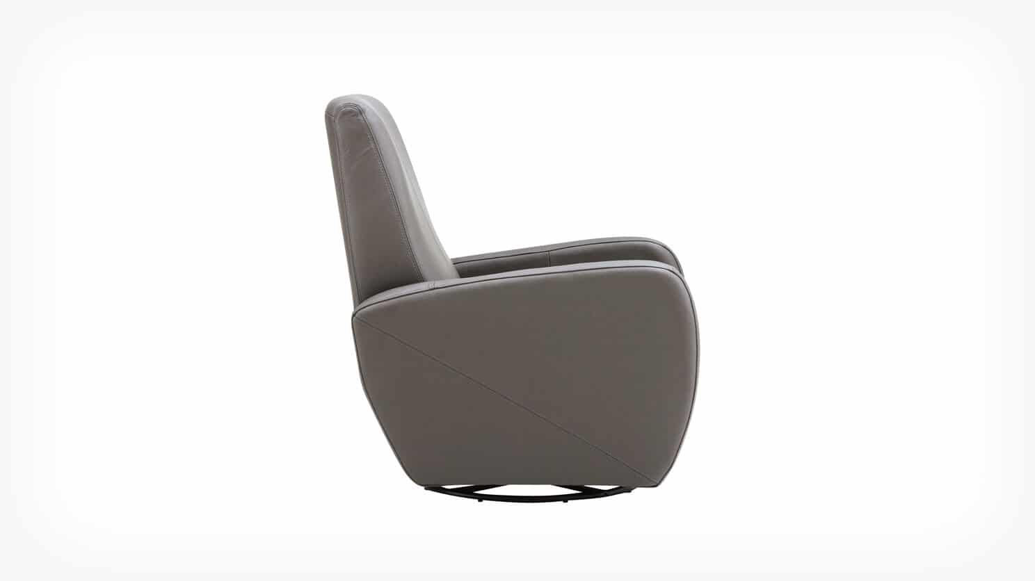 37073 71 2 chairs karbon chair disco leather side w swivel