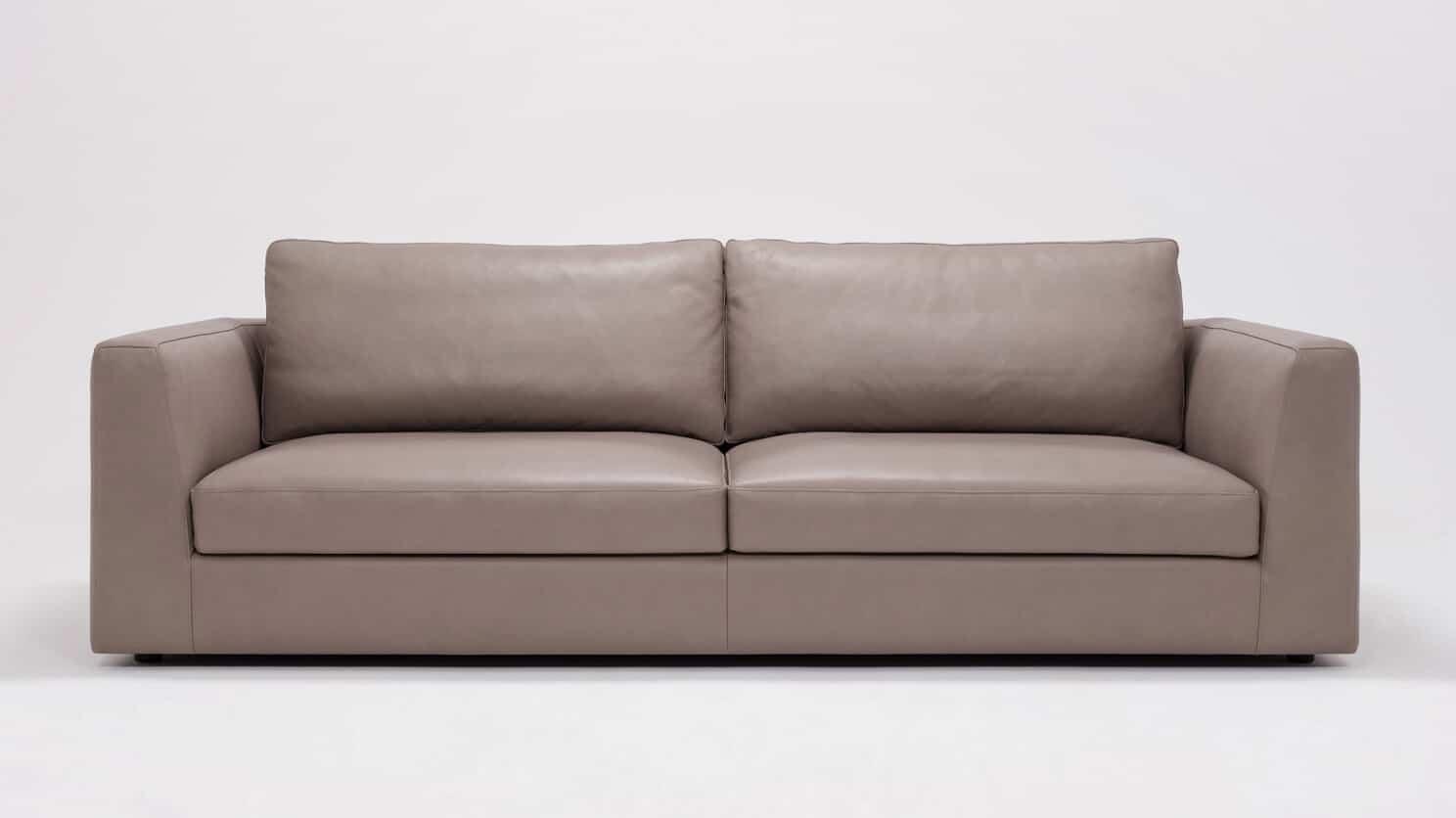 37136 01 01 sofa cello suave chrome front view