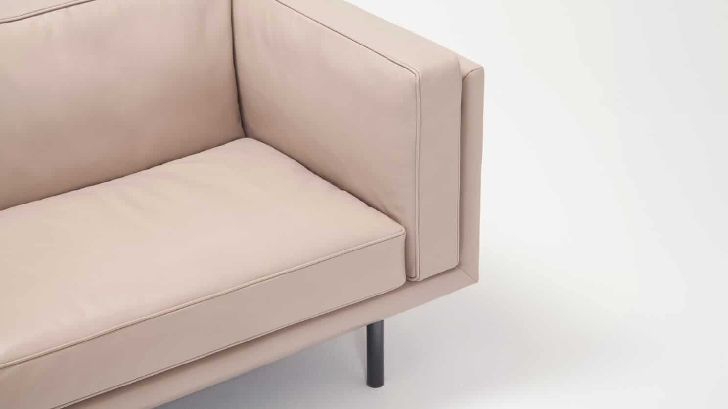 37154 01 03 sofa plateau 84 feather coachella warm grey fron corner view