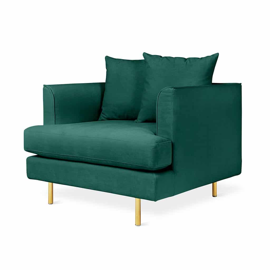 Margot Chair   Velvet Spruce   Brass   P01 1024x1024