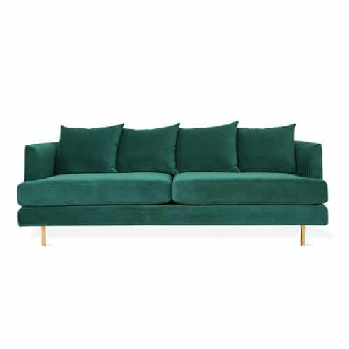 Margot Sofa   Velvet Spurce   Brass   P01 1024x1024