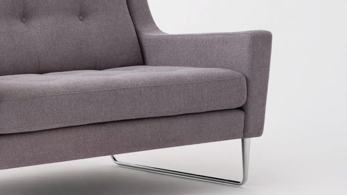 elise loveseat mila grey detail 02