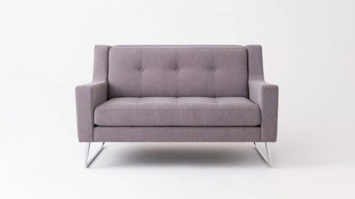 elise loveseat mila grey front 01