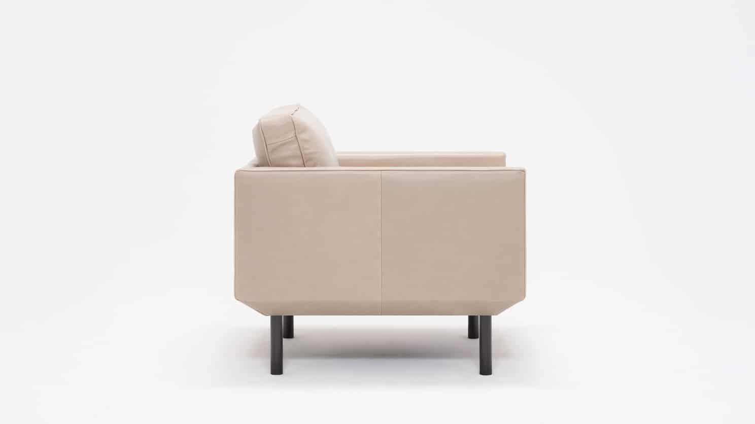 plateau club chair feather coachella warm grey side 01