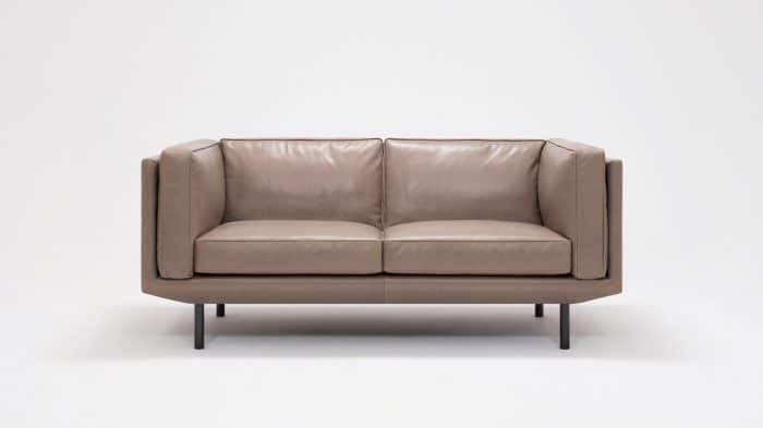 plateau loveseat feather coachella smoke front 02