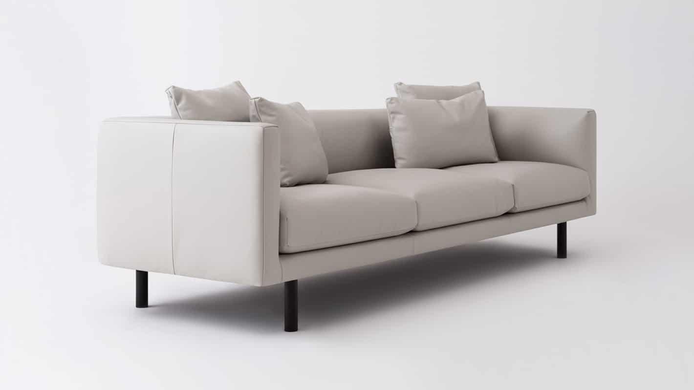 replay 3 seat sofa chaise venice steel corner 01