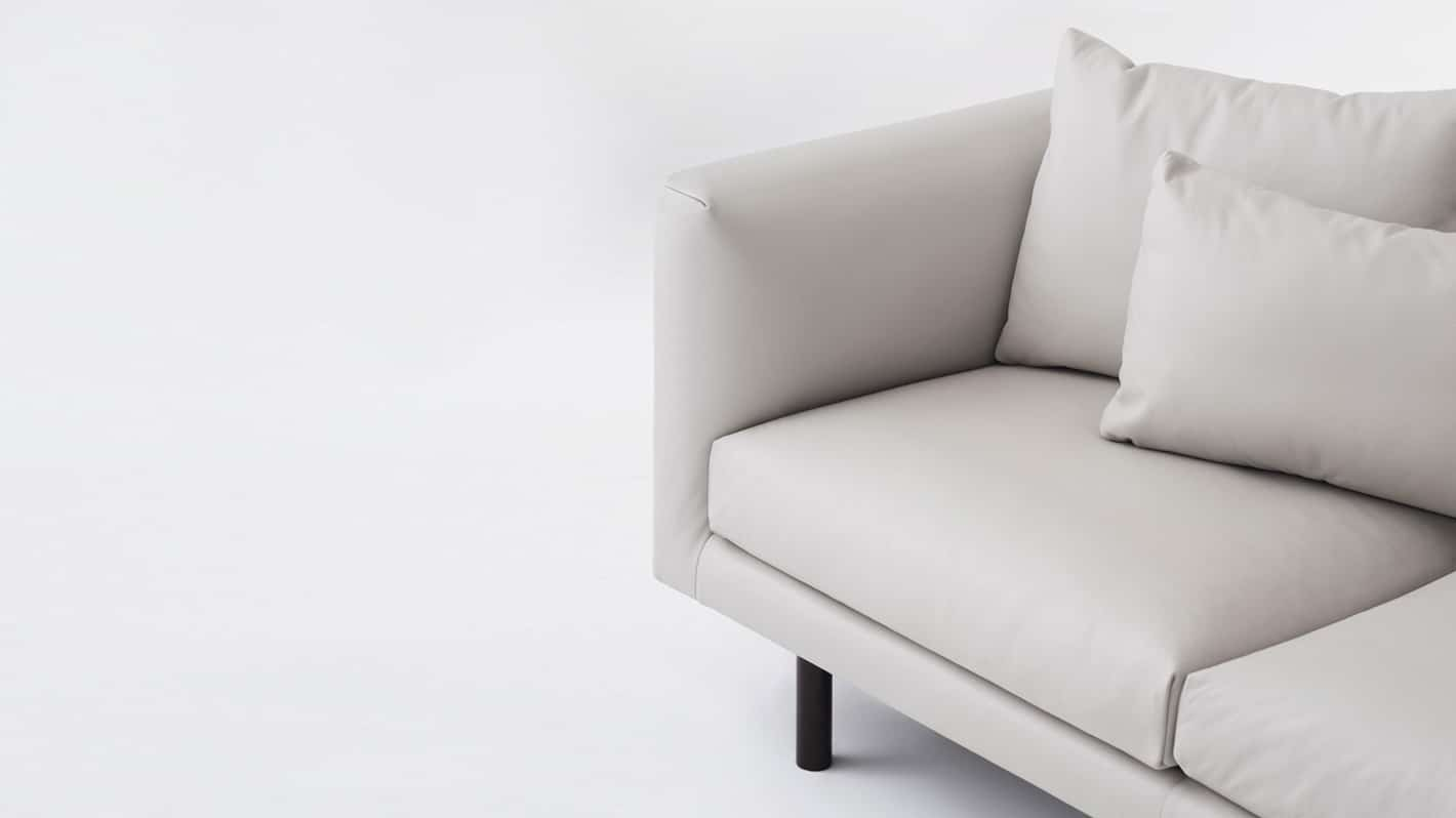 replay 3 seat sofa chaise venice steel detail 01