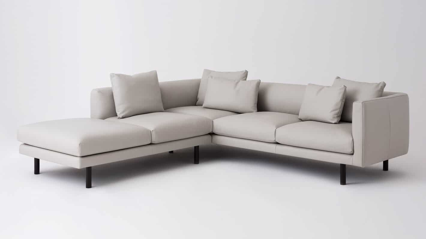 REPLAY 2-PIECE SECTIONAL SOFA W/ CHAISE