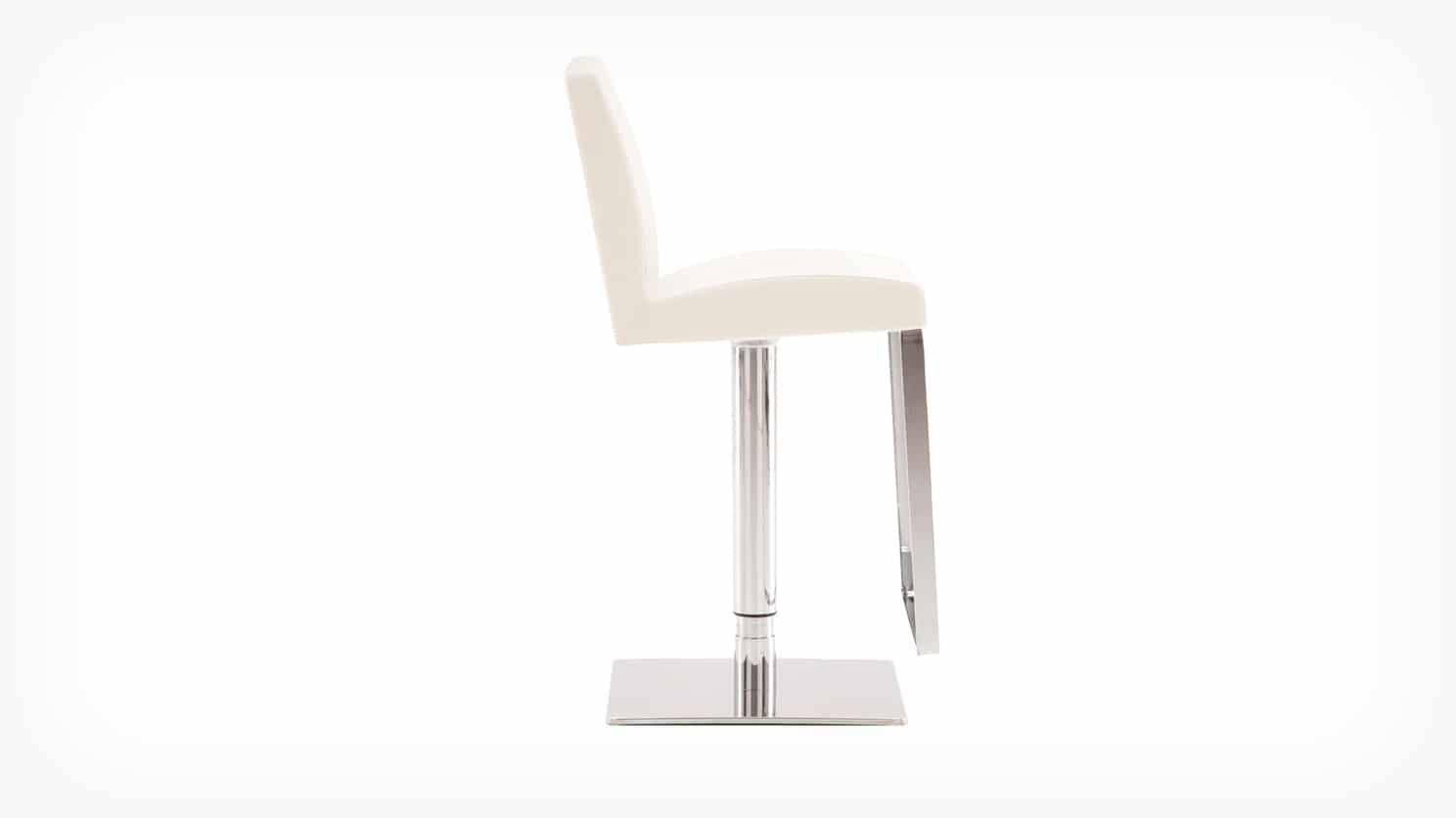 3020 205 34 par 3 counter chairs high back bar stool white side