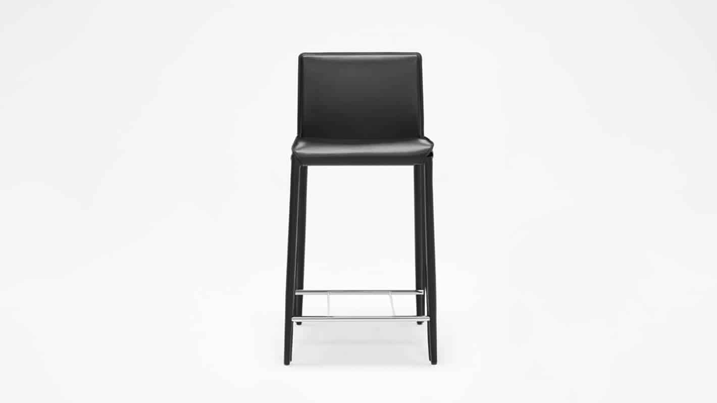 3020 212 34 1 counter chairs low back counter chair black front 01