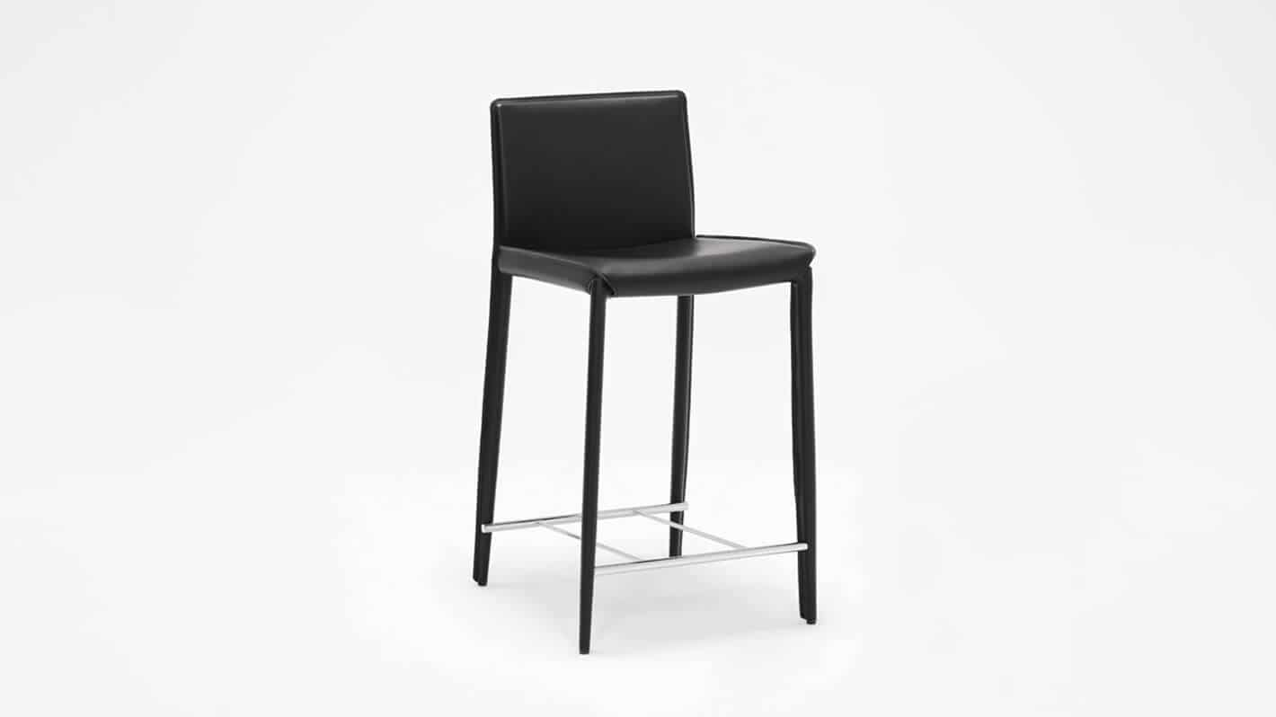 3020 212 34 2 counter chairs low back counter chair black corner 01