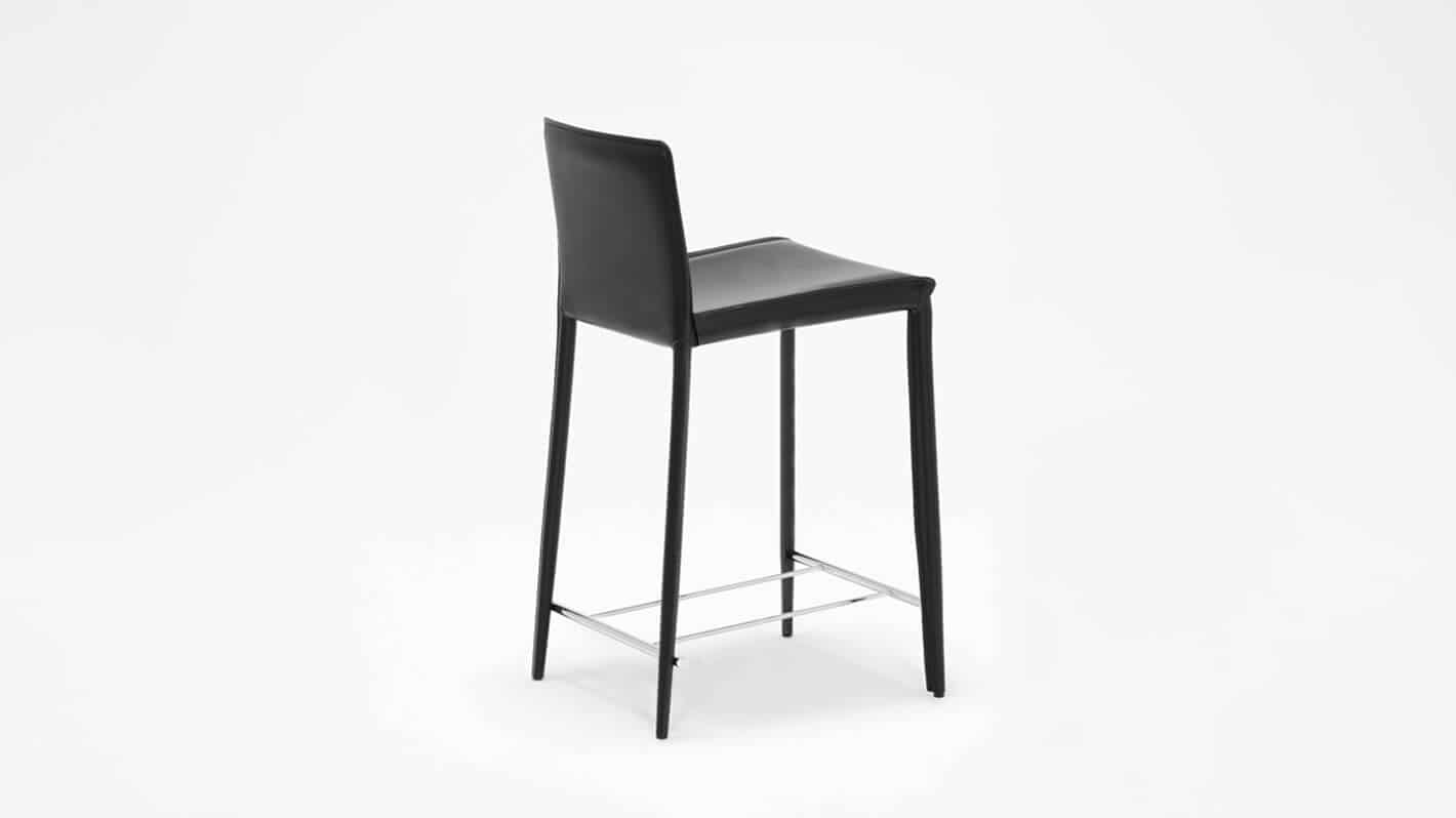 3020 212 34 5 counter chairs low back counter chair black corner 02